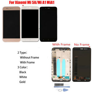 OEM LCD Display Touch Screen Digitizer Assembly For Xiaomi Mi 5X/Mi A1 + Tools