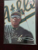1993 Studio #84 Rickey Henderson HOF Oakland Althetics MLB Baseball Card NMMT