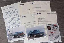 (156B) Informations Presse SAAB 9000 et Ecopower Août 1995 Modèles 1996