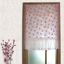 Lace Elegant for Kitchen Cafe Bedroom Room Net Curtain Window Door Covering