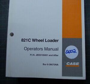 CUSTODIA 821c Front Wheel Loader Owner Operator Operation Maintenance Manual