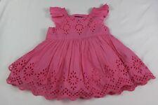 BABY GAP 3-6 mos baby girl PINK EYELET DRESS NWT