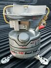 Excellent! Coleman Peak1 FEATHER 442 Dual Fuel Portable Camping STOVE 5/96 photo