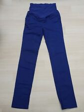 Pantalon Maternité H&M Mama Taille 36 / S /1 SLIM bleu grossesse femme enceinte