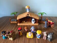 Vintage Fisher Price Little People Christmas Nativity Set