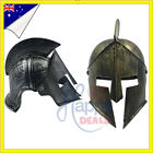 Roman Knight Viking Helmet Spartan Gladiator Bronze Armour Party Hat Costume