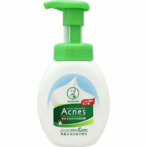 ROHTO Mentholatum Acnes medicated face wash foam 160ml Acne prevention pores