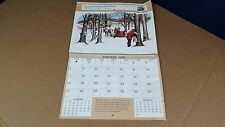 Vintage Original 1976 Ford Tractor Dealer Calendar Alabama Good 13 X 10.5