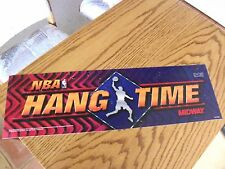 Nba Hang Time Arcade Markee Header Marquee Graphics by Midway