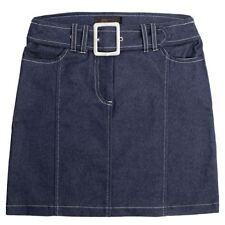 Gonne e minigonne da donna blu denim, taglia 40