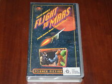 Flight To Mars VHS 1950's Sci-Fi  Blue Dolphin Home Video PAL
