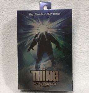 Neca The Thing Movie Ultimate Ed. MacReady Kurt Russell Outpost 31 Rare 2021 New