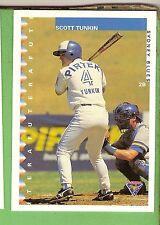 1995 AUSTRALIAN BASEBALL CARD #10  SCOTT  TUNKIN, SYDNEY BLUES