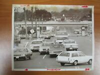 Vintage Glossy Press Photo Natick MA Speen St Mass Pike Intersection 7/27/80s