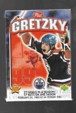 1999 POST CEREAL WAYNE GRETZKY MOMENT # 1 SEALED !!
