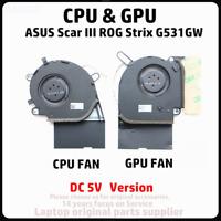 Laptop ASUS Scar III Gaming ROG Strix G531GW G731GW CPU & GPU COOLING FAN