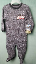 Batman baby footed pajamas 6-9 months w/Persian Pickle pattern