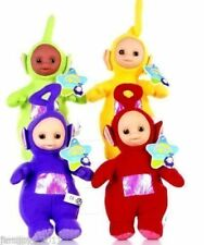 Lot 4 pcs Teletubbies Laa-Laa Po Tinky Winky Dipsy Soft Plush Toy Doll 10 inch