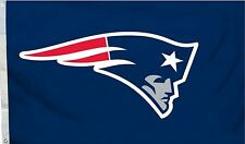 NFL Football New England Patriots Flag 3x5 Feet - Outdoor Indoor Flag