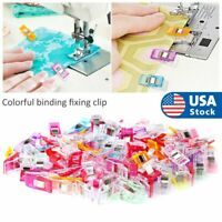 50X Mixed Magic Sewing Clips for Fabric Crafts Quilting Sewing Knitting Crochet