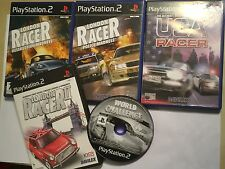 5 PLAYSTATION 2 GAME LONDON USA RACER POLICE DESTRUCTION MADNESS WORLD CHALLENGE