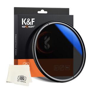 New K&F Concept Circular Polarizer Lens CPL Filter 49 52 55 58 62 67 72 77 82mm