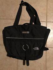 The North Face Black Messenger Laptop Travel Bag w/ Shoulder Strap