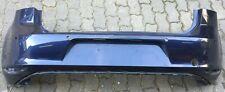Original VW Golf 7 5G ab 2012 Stoßstange hinten Bumper 4x PDC 5G6807421 Blau