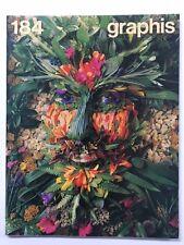 Graphis 184 Vintage International Design Advertising Illustration 1976-77 Herdeg