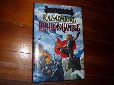 Luthien's Gamble (The Crimson Shadow) R.A. Salvator Signed 1st