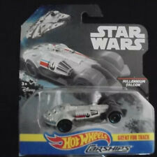Hot Wheels Star Wars Die Cast Carships Millennium Falcon Great For The Track