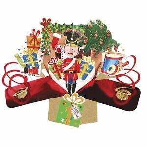 Christmas Pop Up Card Ideal for Son Grandson Nephew Boy Kids