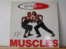 "★★ 12"" Maxi - KOMEDA ARTISTS - Muscles (Pump Ya Rump Mix) 6:21 + Live in Ankara"