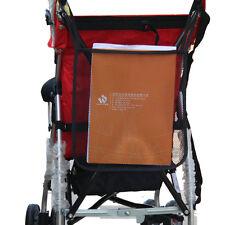 Black Baby Cart Stroller Organizer Nappy Diaper Bag Pram Buggy Bottle Holder
