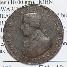 Great Britain 1794  1/2 Penny  portsmouth conder d&H53 halfpenny GR0176 combine