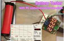 Battery Capacity Meter discharge Tester 18650 li-ion lithium +PC online function