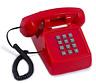 Old Style Retro Desk Phone Sangyn 1980'S Classic Vintage Single Landline Telepho