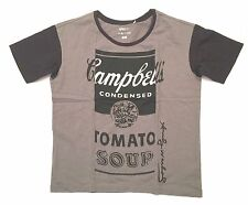 Uniqlo Womens SPRZ  MOMA Andy Warhol Campbell Soup T Shirt Size Medium NWT