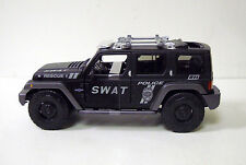 Jeep Police SWAT Rescue Concept Diecast Model Truck Car Maisto 1:18 Scale Black