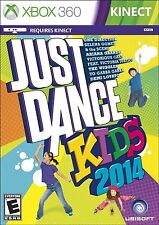 NEW Just Dance Kids 2014 (Microsoft Xbox 360, 2013) FREE SHIPPING