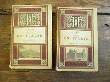 voyage en italie - Rome Naples Venise Florence -  H. Taine - hachette 1889
