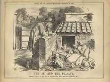 1863 el cerdo y la situación de los pobres campesinos