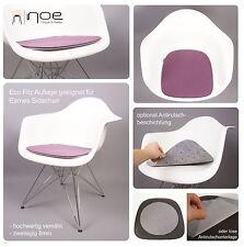 Felt Seat pad cushion suitable for Eames Armchair DAW,DAX,DAR,DAL unupholstered