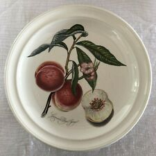 Portmeirion Pomona Grimwoods Royal George Dinner Plate England Vintage Red Label