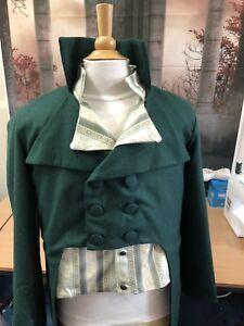 Regency Style Made To Order Frock Coat In Wool