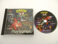 CRASH BANDICOOT 2 Cortex Strikes Back - SONY PLAYSTATION - Jeu PS1 PAL Fr
