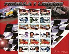 AUTRICHE AUSTRALIE Oesterreich-Australien Bloc 37a Formule 1 Autos Cars MNH** RR