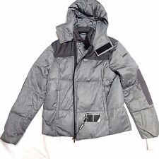 NEW EMPORIO ARMANI FANTASIA POLYESTER DOWN PUFFER HOODED JACKET COAT XXL (M US)