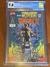 Marvel Comics Presents #72 CGC 9.8 White Weapon X / Origin of Wolverine