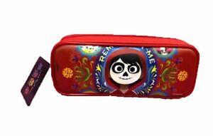 Pencil Case - Coco - Pencil Box - Red - Zippered